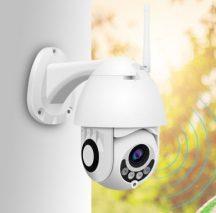 Professzionális kültéri WIFI-s térfigyelő kamera