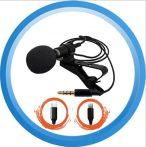 Csiptetős külső mini mikrofon