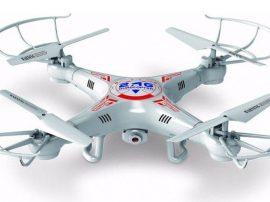 HD kamerás quadrocopter - LED világítás + éjszakai üzemmód!