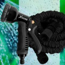KIÁRUSÍTÁS! Xhose Pro 45m-es Locsolócső - Szuper erős, tartós, ugyanakkor rendkívül kis súlyú!